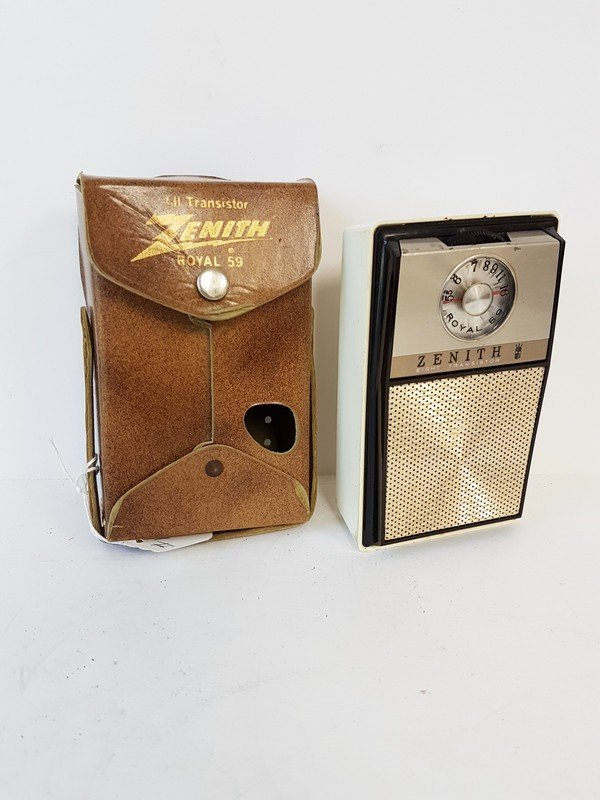 zenith royal 59 all transistor radio