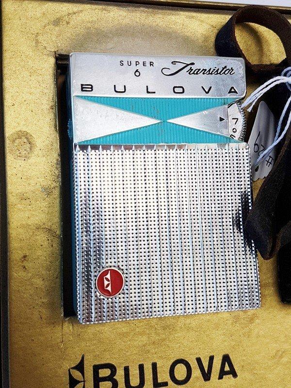bulova super 6 transistor radio - 2