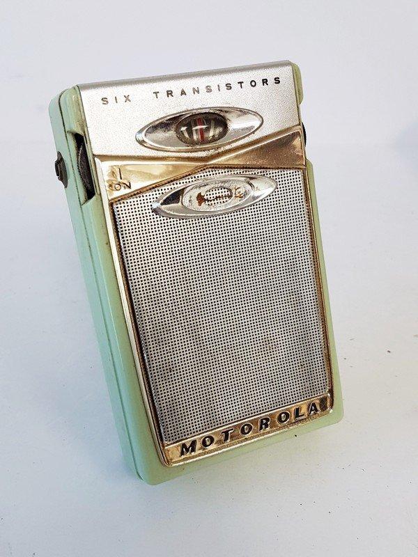 motorola 6 transistor radio