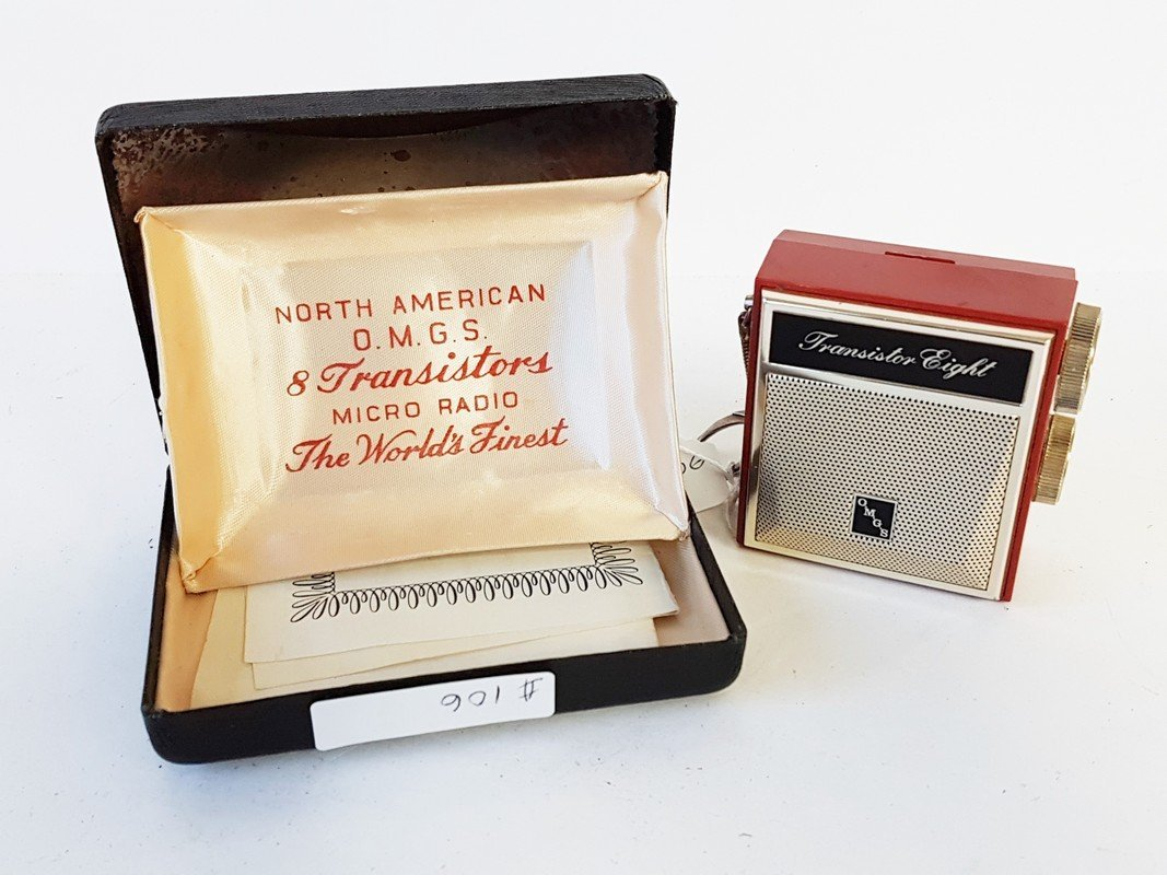 morth american 8 transistor radio