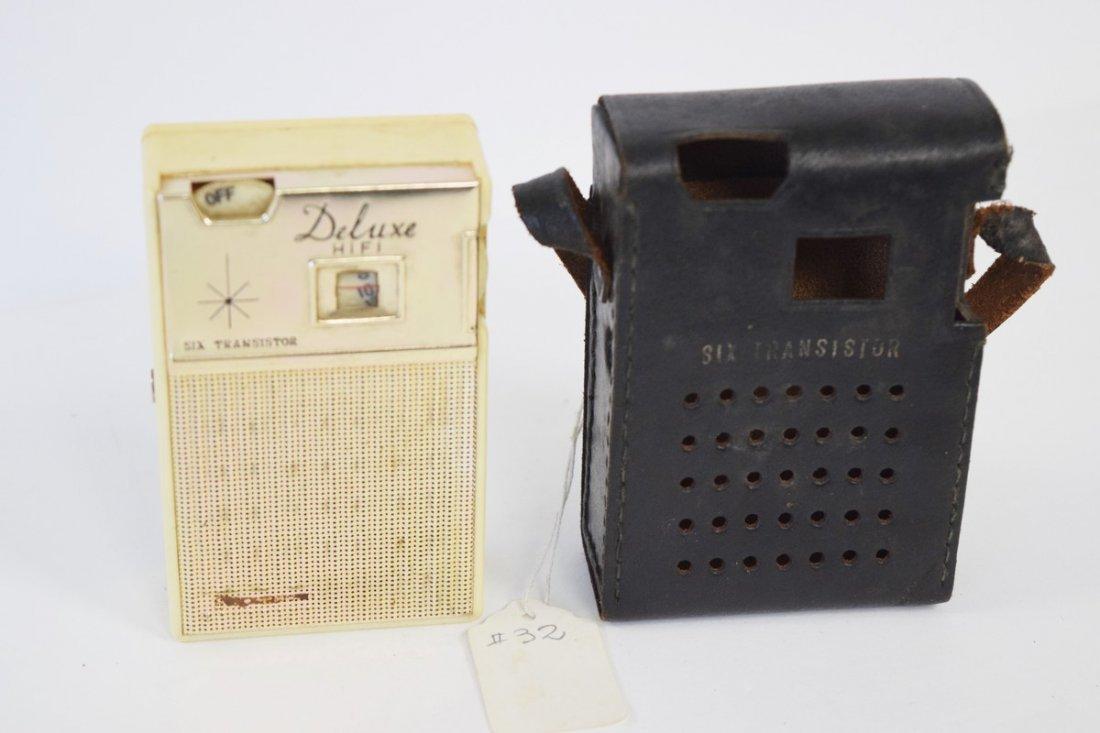 deluxe hi fi 6 transistor radio