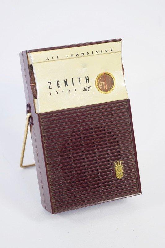 zenith royal 300 all transistor radio