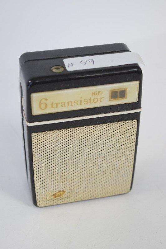 hifi 6 transistor radio
