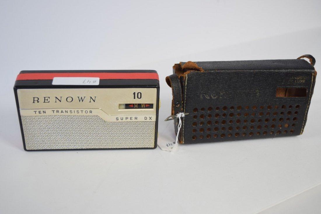 renown super hi fi 10 transistor radio
