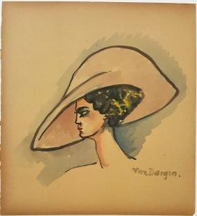 (Attr.)Kees VAN DONGEN (1877-1968). France -