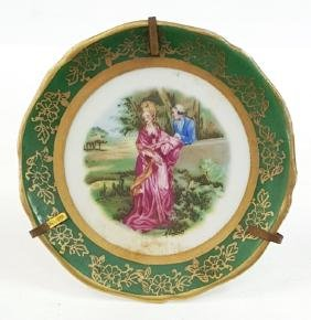 LIMOGES FRANCE PORCELAIN PLATE