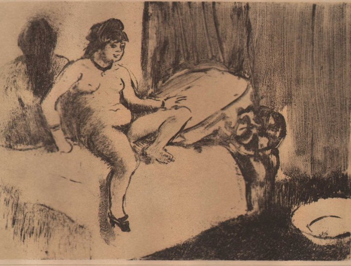 Edgar Degas - Attente