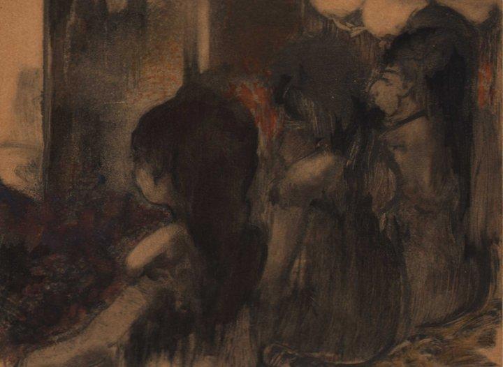Edgar Degas - Trois Femmes de dos