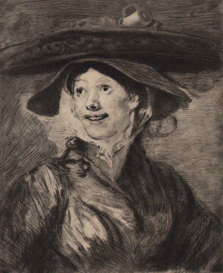 William Hogarth - Shrimp Girl