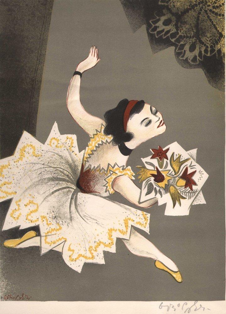 William Gropper - Original lithograph
