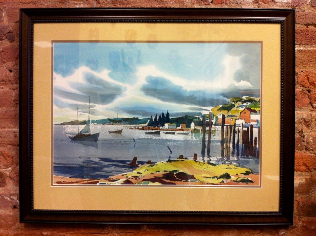 Laurence P. Sisson - Untitled Bay Landscape