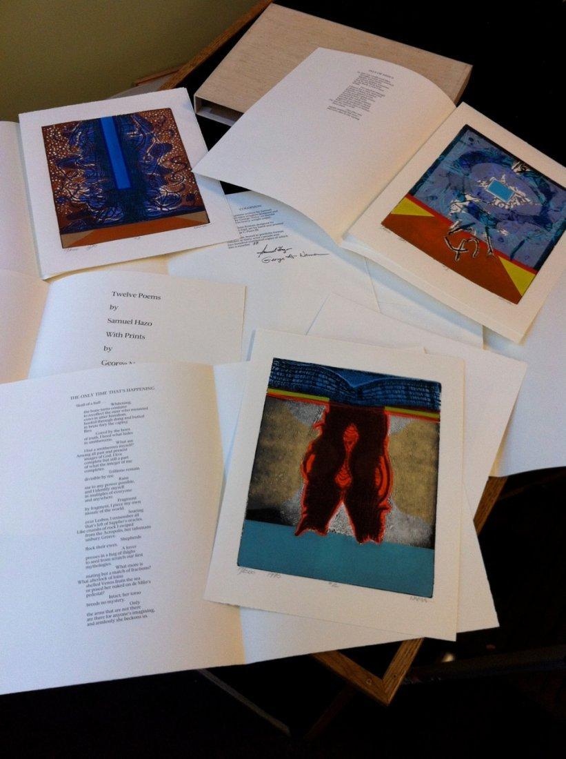Poems by Samuel Hazo Prints by George Nama (#17)