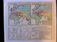 Chart of the World as known to the AncientsÉDivision of
