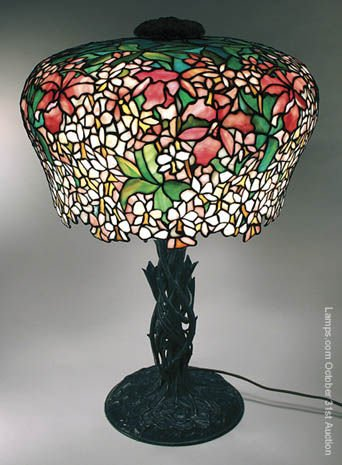 19: Outrageous Unique Leaded Glass Lamp