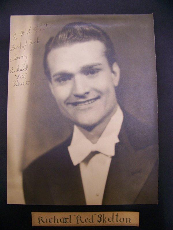 "4: Autographed Richard ""Red"" Skelton photograph"