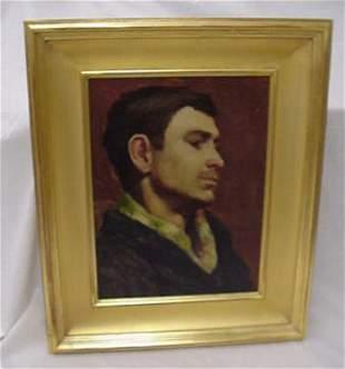 Signed Robert Henri oil on canvas