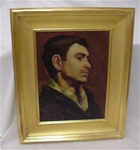 1001: Signed Robert Henri oil on canvas