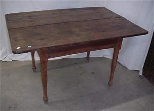 Cherry 2 board top Sheraton work table