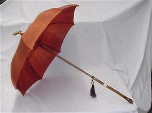 Grouping of 4 vintage umbrellas