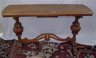 """54"""" Jacobean hall table"""