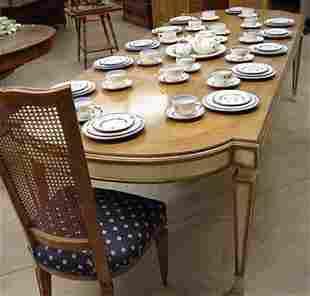 8 pc. Karjes walnut dining room suite w