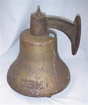 US Navy bell
