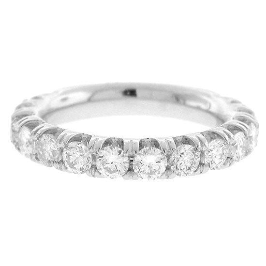 1.62ct  Diamond Wedding Band