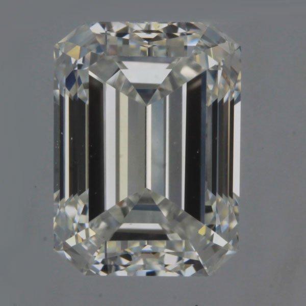 1.01carat H/VS1 Emerald Cut Diamond (GIA Certified)