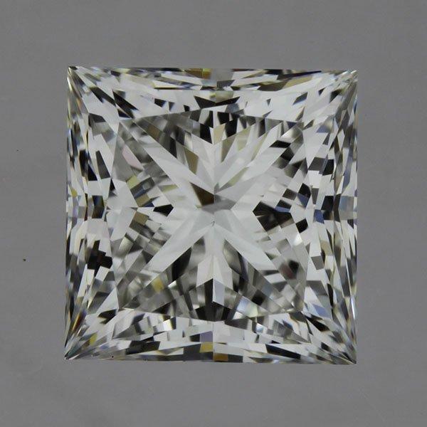 1.00carat F/VS1 Princess Cut Diamond (GIA Certified)