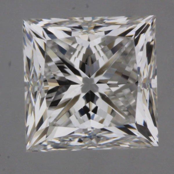 1.00carat E/VS1 Princess Cut Diamond (GIA Certified)