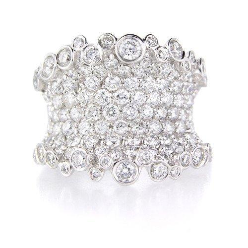 2.98ct 18k White Gold Diamond Ring