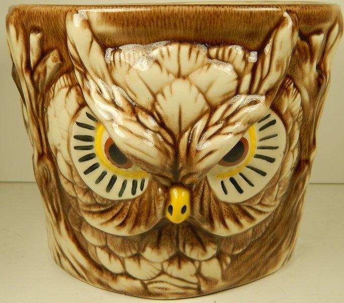 "MID CENTURY ""OWL PLANTER"""