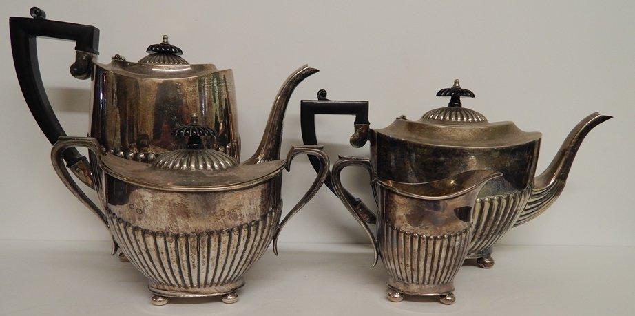 EPNS (I.F.S.) MADE IN SHEFFIELD ENGLAND PLATED TEA SET