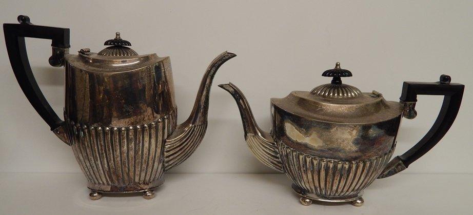 EPNS (I.F.S.) MADE IN SHEFFIELD ENGLAND PLATED TEA SET - 3