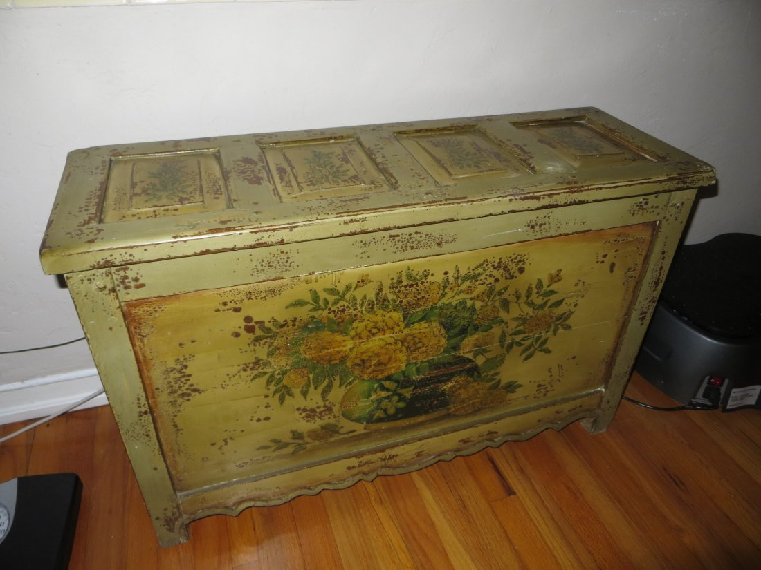 19th C Indonesian Chest