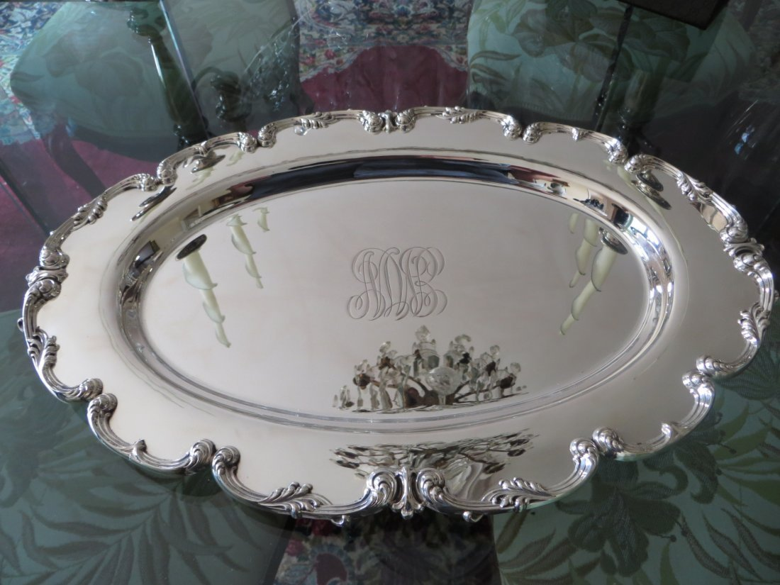 Antique Sterling Silver Dish