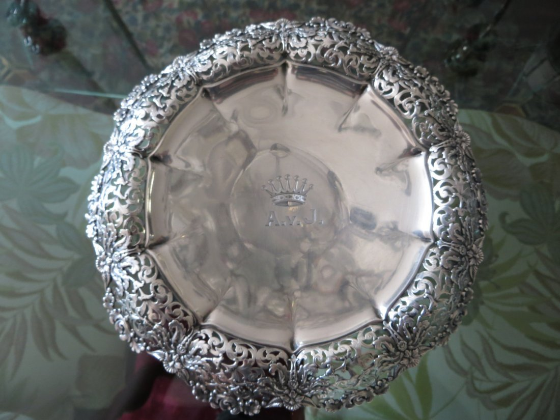 Antique Tiffany Sterling Plate