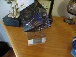 Victor Vasarely Optic Cube
