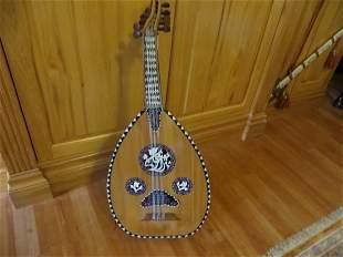 Italian Mandolin with Mother of Pearl Inlay