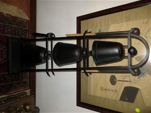 A suite of three Japanese style tuned bells