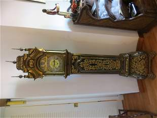 A Lacquered Grandmother Clock