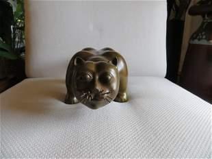 Bronze Sculpture After Fernando Botero, 'Piccalo Gatto'