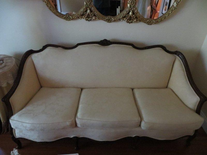 A Mahogany Sofa