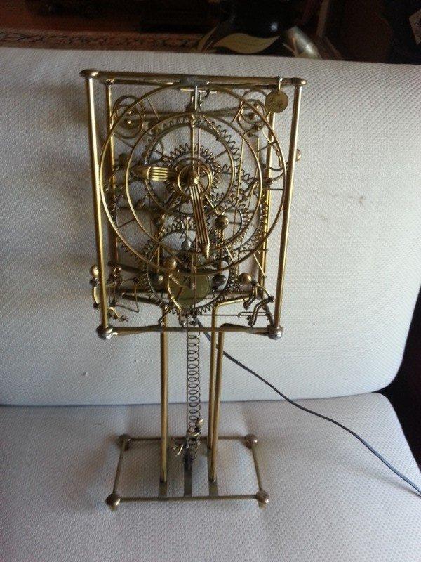 Gordon Bradt Kinetic 7 Man Clock