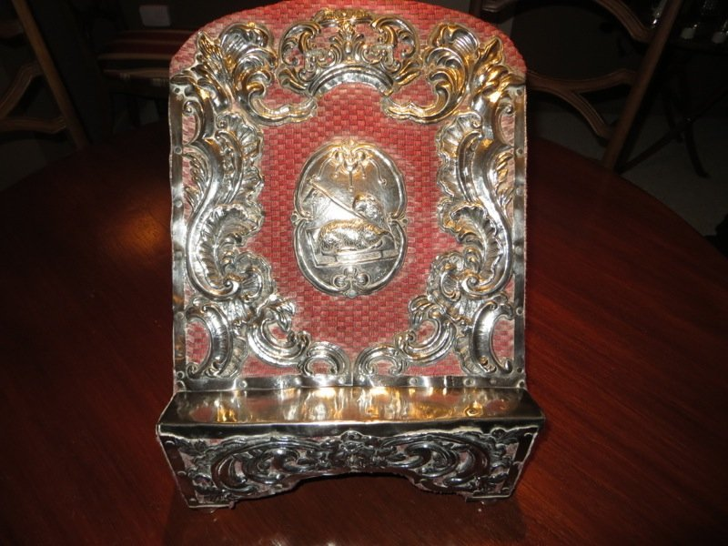 Spanish Colonial Silver Lectern