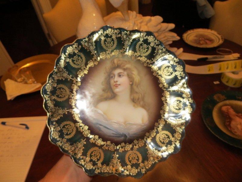 Royal Vienna Porcelain Plate