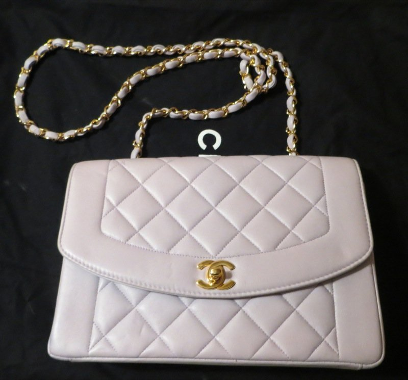 Chanel White Quilted Flap Bag