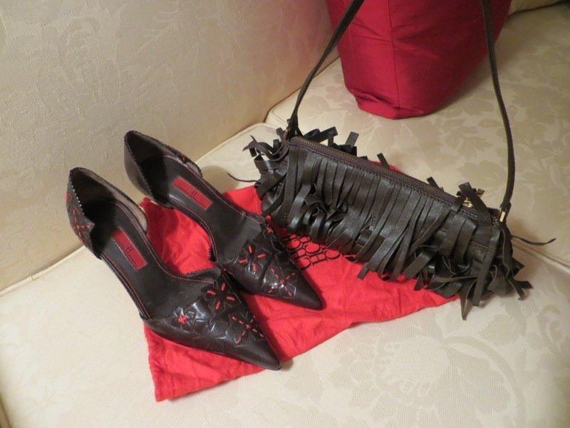 Carolina Herrera Shoes and Handbag