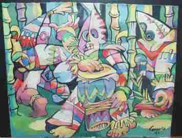 Mario Carre�o (Cuba 1913-Chile 1999) Danza Afrocubana