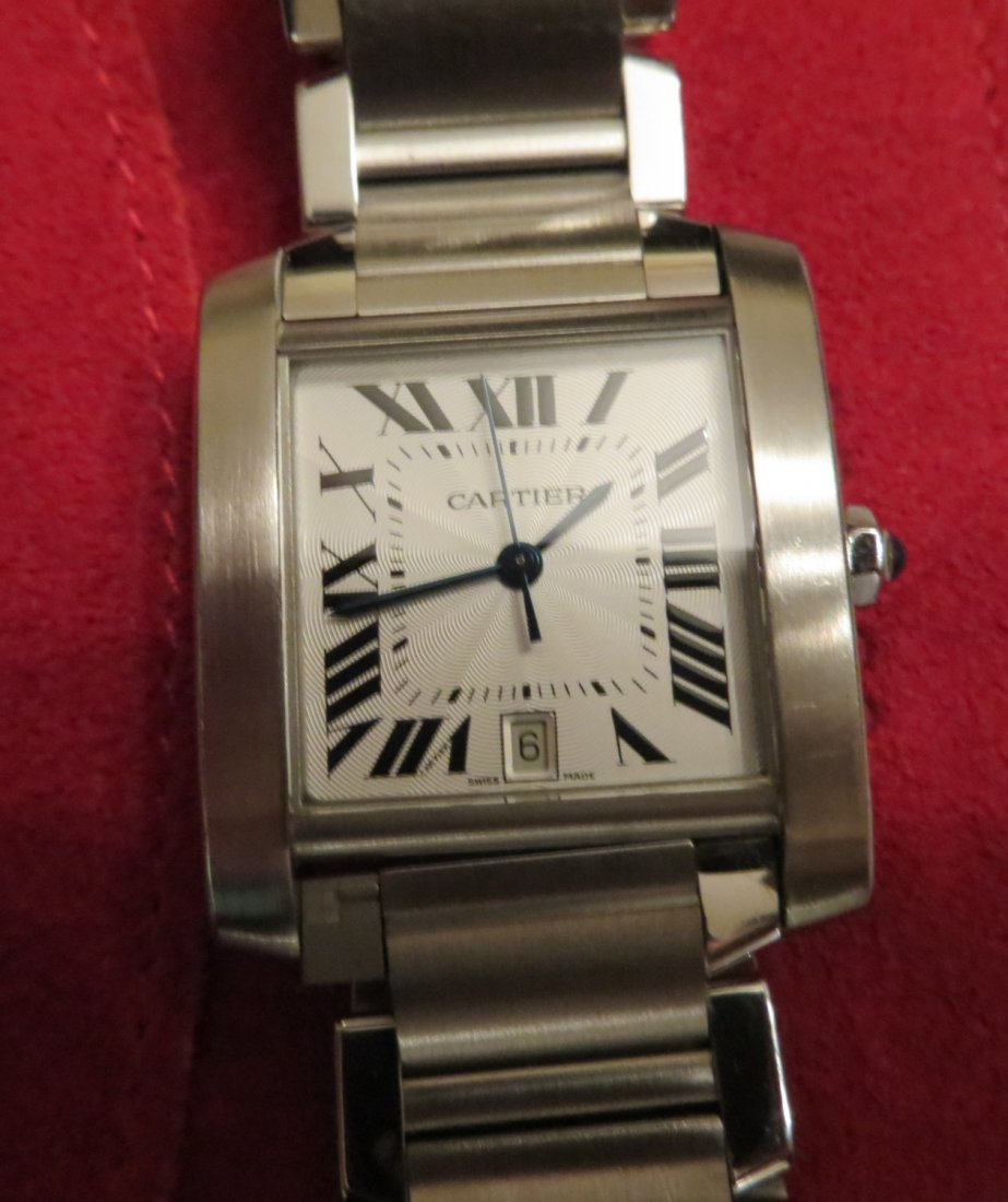 Cartier Tank Francaise Steel Watch